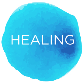Andrea Brock Healing healing button
