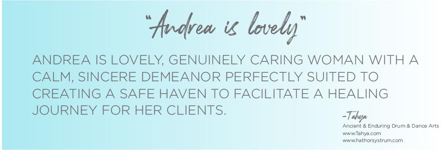 Andrea Brock Healing testimonial image
