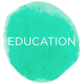Andrea Brock Healing Education button