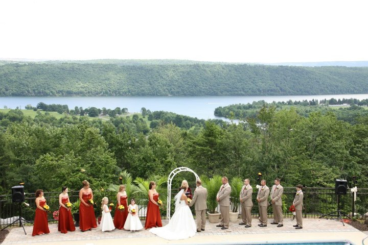 Andrea_Brock_Healing customized ceremony outdoors wedding party